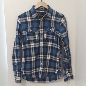 American Eagle Outfitters - Blue Plaid Shirt